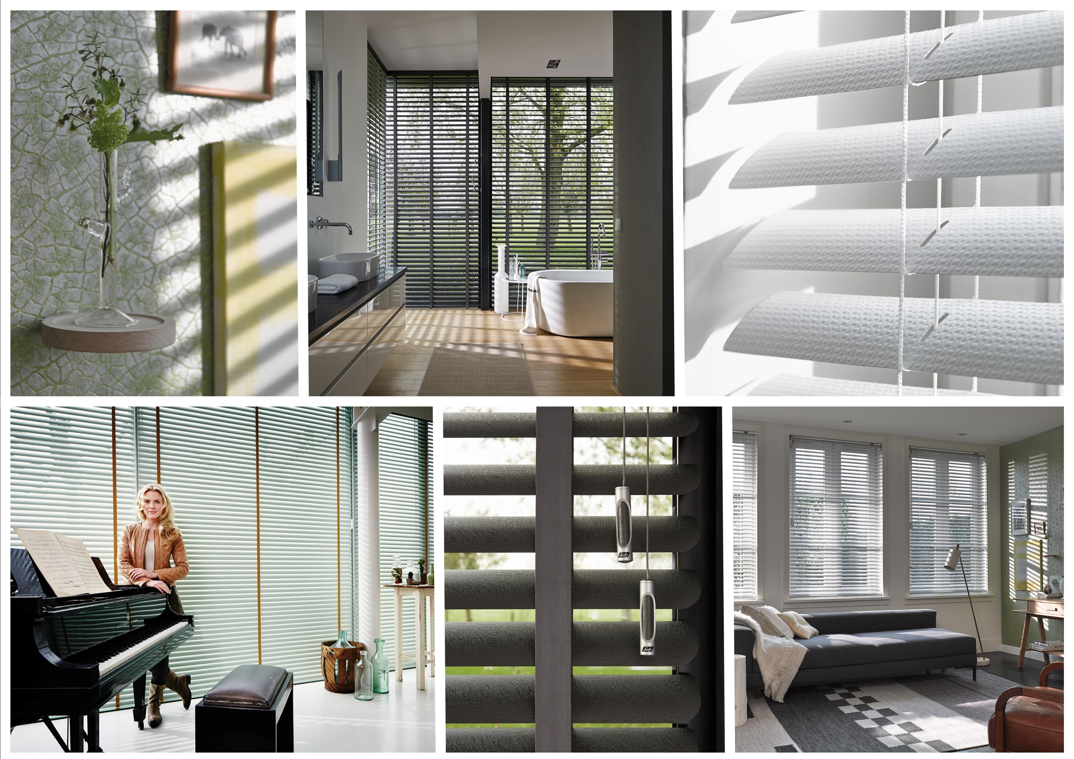 Luxaflex® verfrist collectie Horizontale Jaloezieën met nieuwe kleuren
