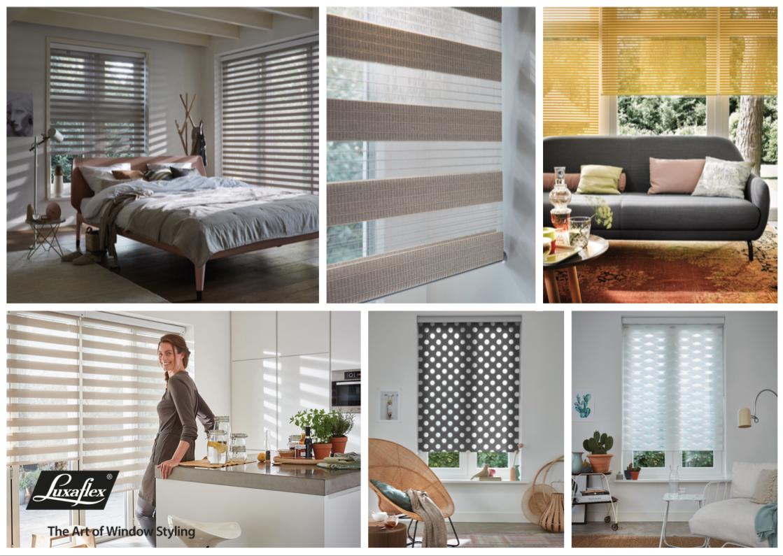 Luxaflex® verrijkt interieur met nieuwe collecties