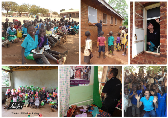 Luxaflex Nederland strijdt samen met Cordaid tegen malaria