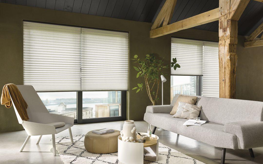Luxaflex® introduceert vernieuwde collectie Plissé Shades